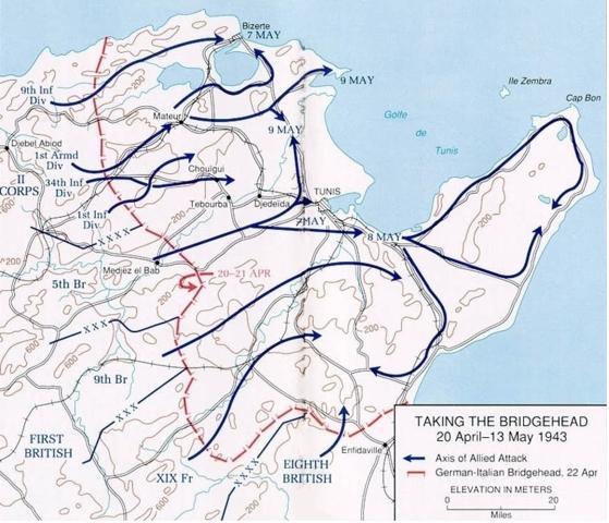 Victoire alliée en Tunisie