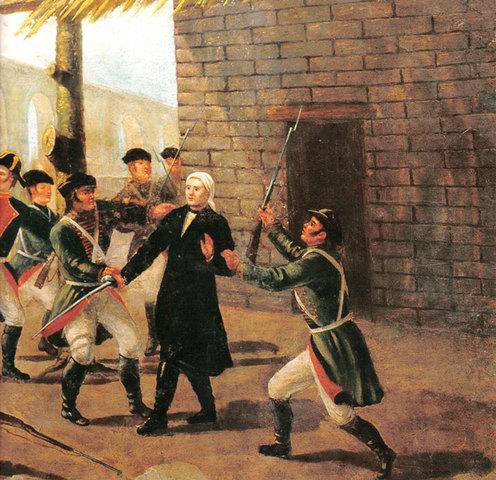 Morelos prisionero