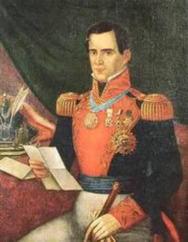 Derrota de Vicente Guerrero y de Manuel Mier y Terán.