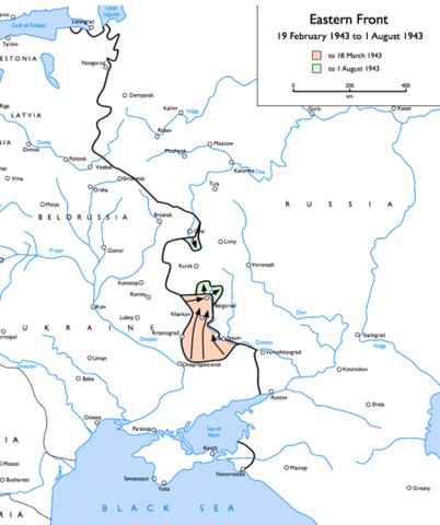 Bataille de Koursk (juillet-août 1943)