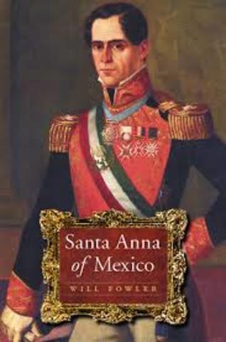 Presidencia de Antonio López de Santa Ana
