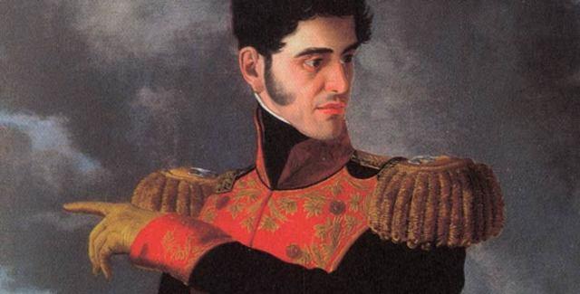 Santa Anna abandona México