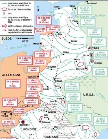 Offensive générale soviétique en Europe de l'Est