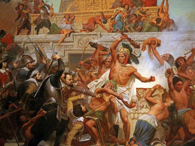 Conquista de México-Tenchtitlan
