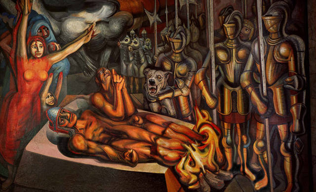 Muerte de Cuauhtémoc