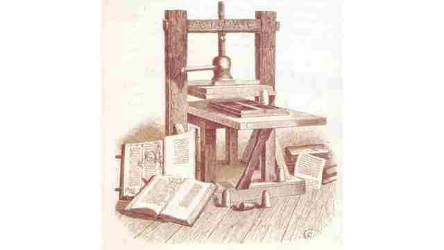 Primera imprenta del continente