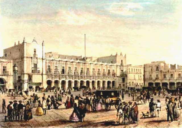 Construcción del Palacio Virreinal