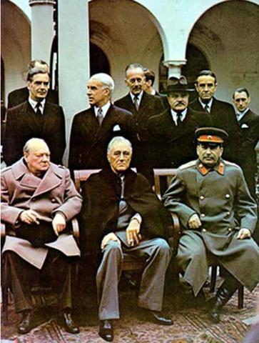 Ouverture de la conférence de Yalta