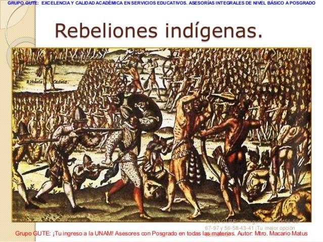 Rebeliones indígenas