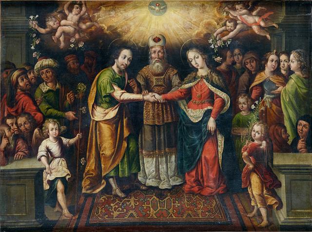 Pinturas de Cristobal Villalpando