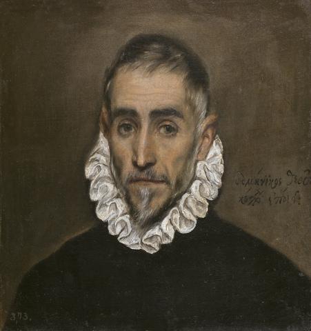 Retrato de Caballero Anciano