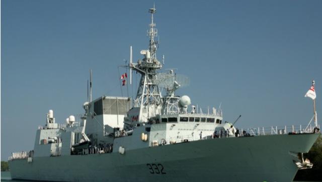 Mom Sails with HMCS Ville de Québec