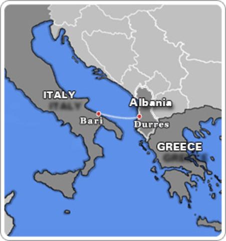 Albania pasa a ser protectorado italiano