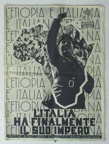 Italia ocupa Etiopía