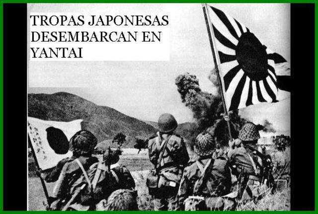 Japón inicia una guerra con China