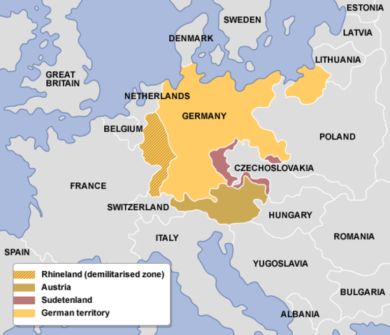 Austria pasa a formar parte del Reich