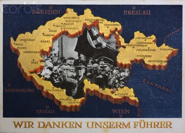 Anexión de los Sudetes al Reich
