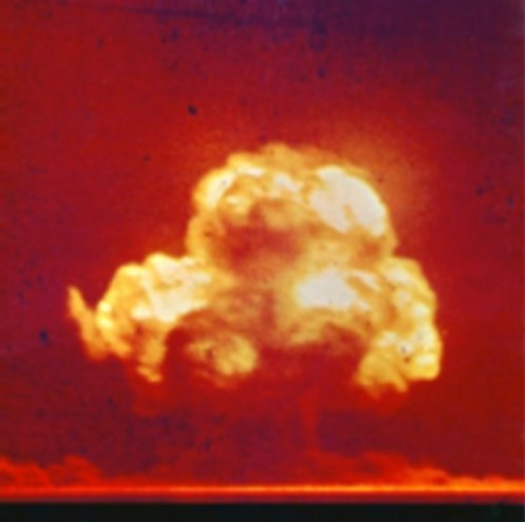 Premier essai atomique