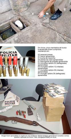 Região Centro-oeste de Minas passa por operação policial