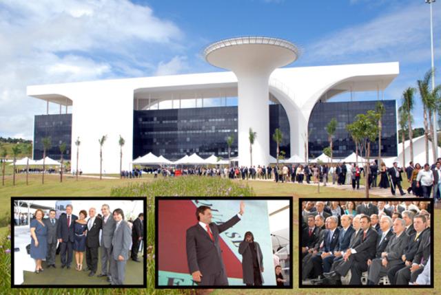 Prefeito e vice prestigiam inauguração da Cidade Administrativa