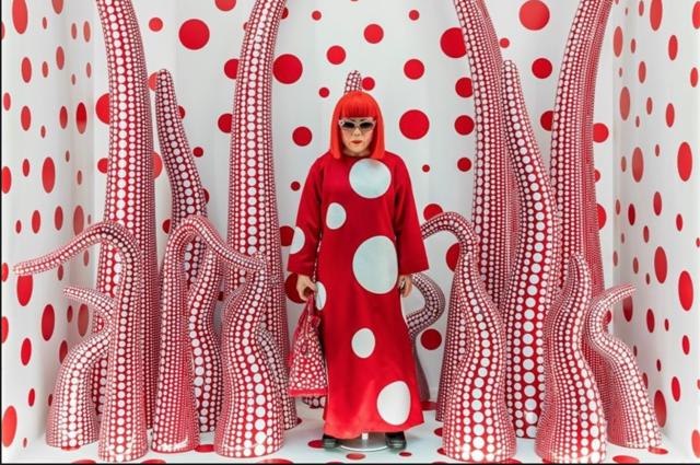 Yayoi Kusama en Louis Vuitton