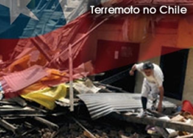 Tremores de hoje no Chile chegaram a 6,6 graus