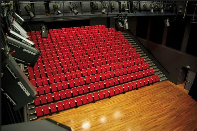 Vlakke vloer theater
