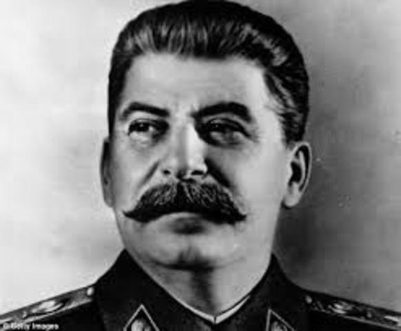 Stalin Launches Plan to Expand Soviet Union