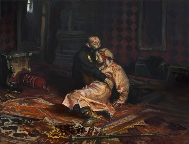 Ivan the Terrible murders his son