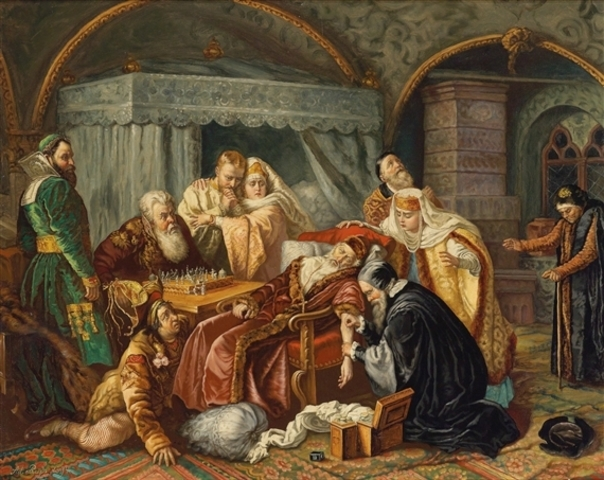 Ivan the Terrible dies