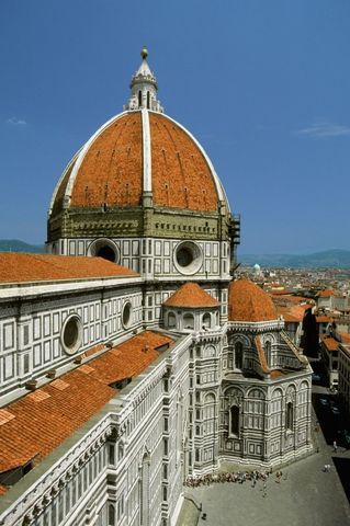 (1418)Brunelleschi construye la cúpula de Florencia, surge el arte del Renacimiento