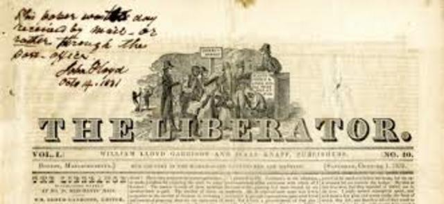 William Lloyd Garrison Published the LIberator