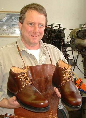 Vladek's Third Useful Talent: Shoemaking