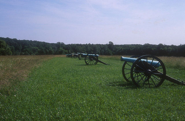 The Union Army  suffers a defeat at Bull Run