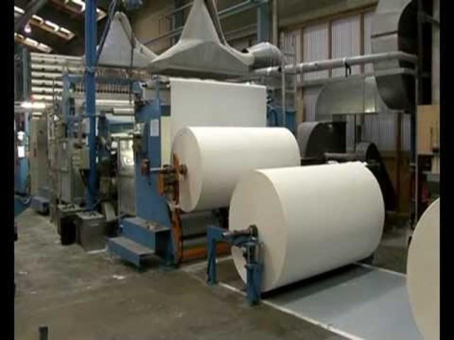 Paper Manufacturing begins in North America