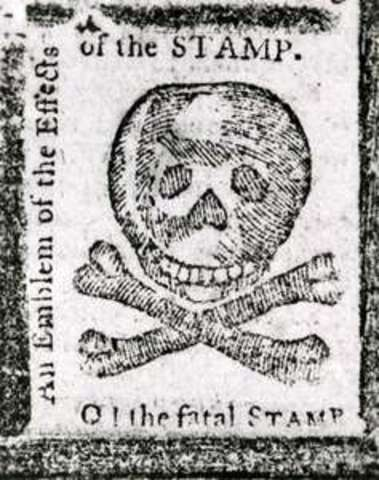 Stamp Act is created in England