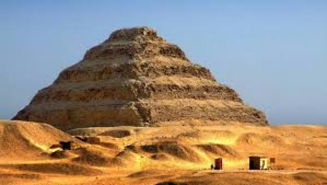 The First Step Pyramid is Built