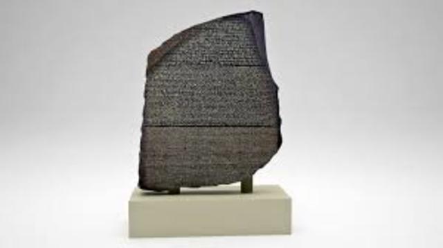 The Rosetta Stone is Found