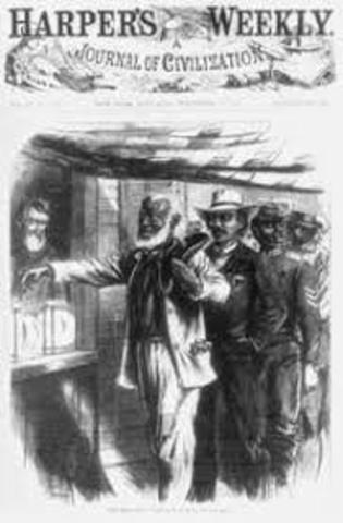 First Congressional Reconstruction Act passed