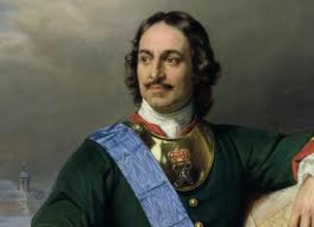 Title Peter the Great