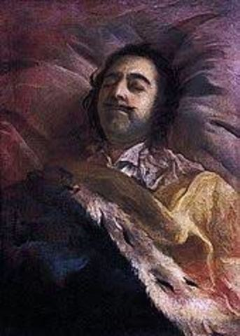 Peter the Great died