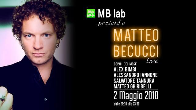 MB Lab Matteo Becucci Live @Livorno