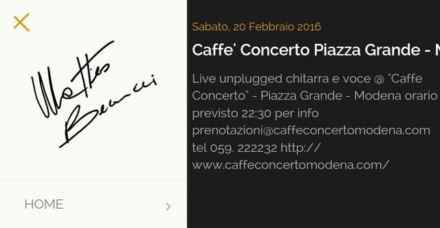 Live @Modena