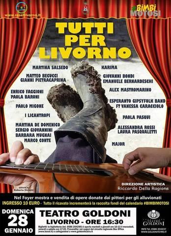 Tuti per Livorno @Teatro Goldoni Livorno