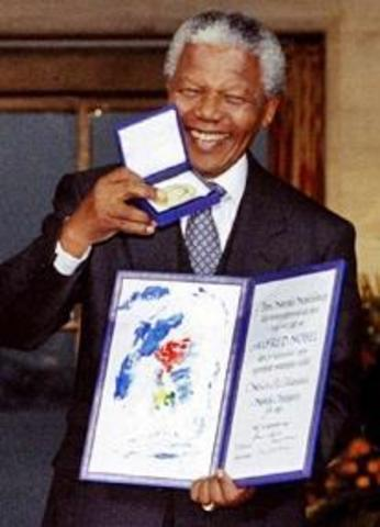 Awarded Nobel Peace Prize