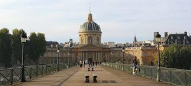 Francia se dota de una Real Academia de las Ciencias