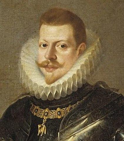 1599 Delegó los asuntos de gobierno en el Duque de Lerma, el cual motivó el traslado de la Corte.