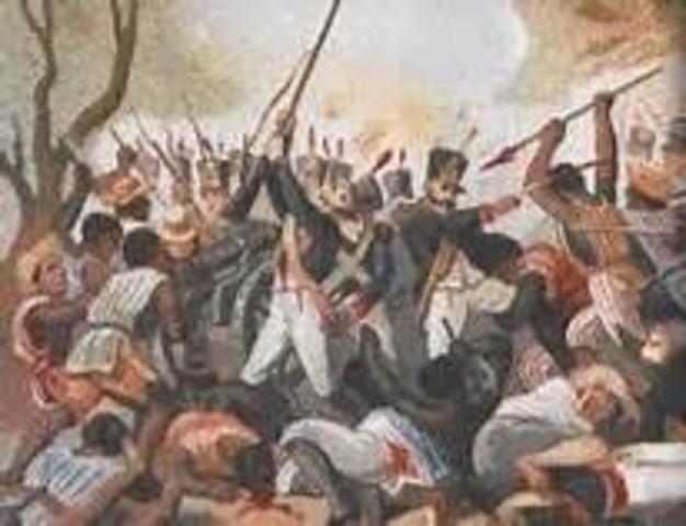La derrota en la Batalla de Aculco
