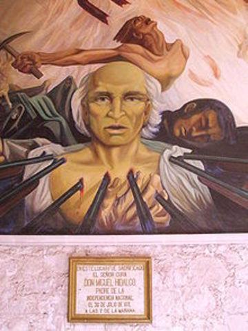 Apresamiento de Hidalgo, Allende, los Aldama.