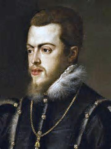1576Felipe II ordena la construcción de las murallas en Cartagena